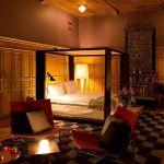 Dormitorio de la suite del hotel Nobis
