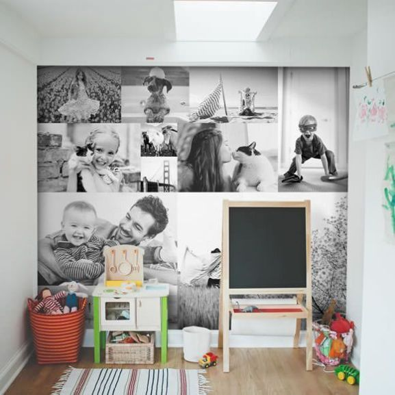 Ideas para decorar las paredes con fotos