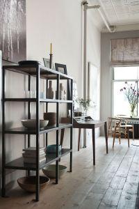 Library and Hans Wegner wishbone chairs