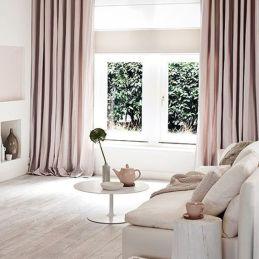 Decora tus ventanas con cortinas generosas
