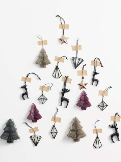 Different Christmas tree