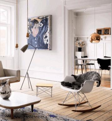 Casa en Copenhagen - salón divertido