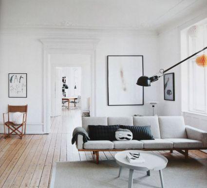 Casa en Copenhagen - salón gris