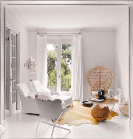 Casa ecléctica y vintage - detalle del salón