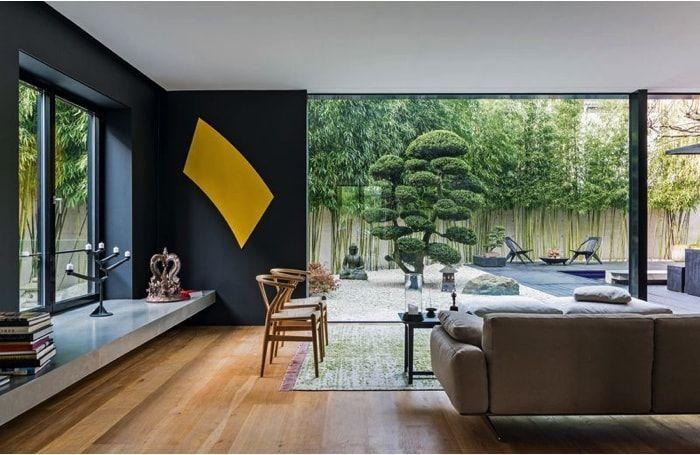 Casa de 1.200m2 - Vistas al jardín