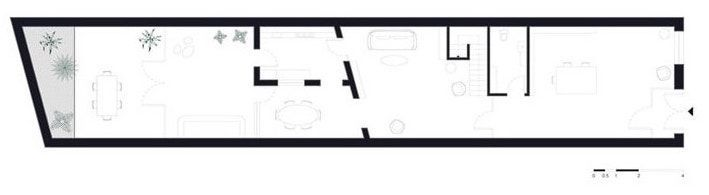 plano primera planta Showroom Xavier martin