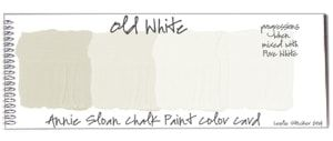 color old white de Annie Sloan