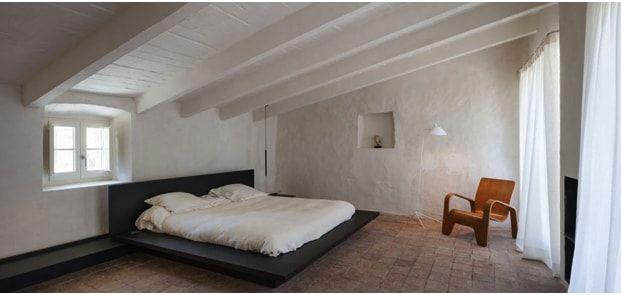 dormitorio principal casa proyectada por Rife