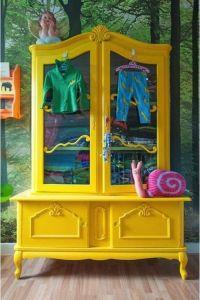 vitrina rejuvenecida con chalkpaint