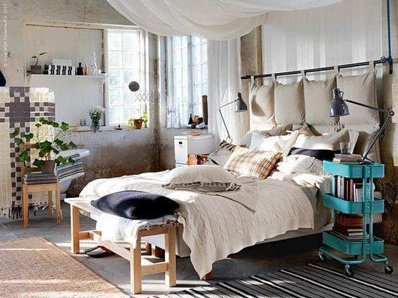 Decora tu dormitorio seg n tu hor scopo decoralinks - Cojines para cabeceros ...