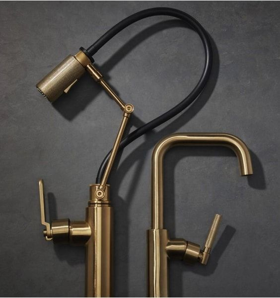 Brass faucets - trends 2018