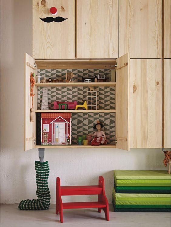 hack ivar furniture in the inside