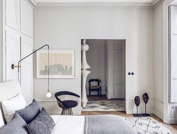 apartamento sofisticado - dormitorio principal