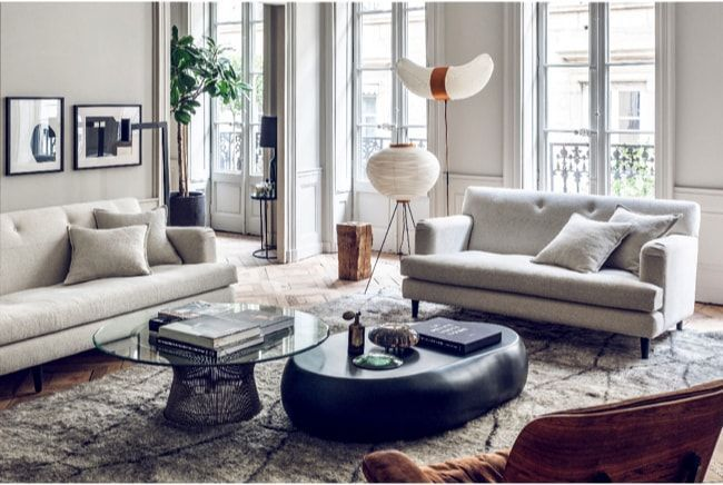 apartamento sofisticado - iconos mid century