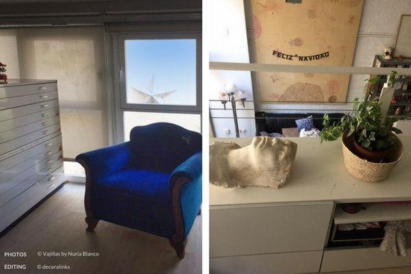 En casa de Nuria Blanco - altillo