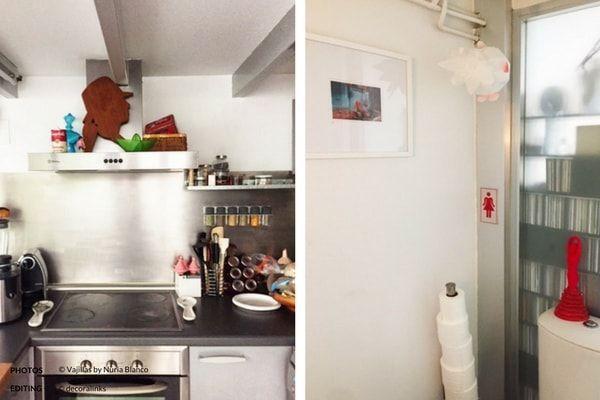 En casa de Nuria Blanco - cocina