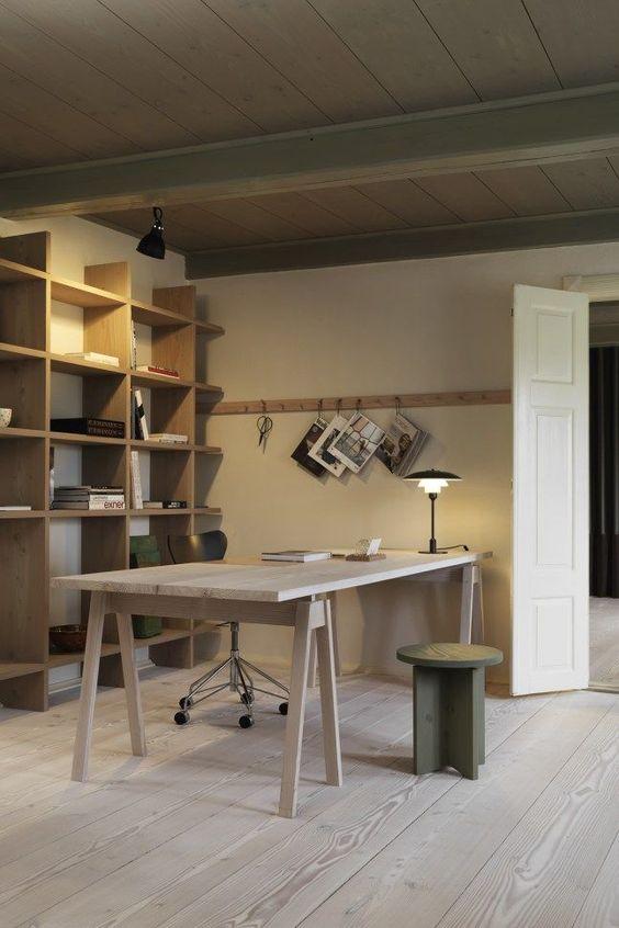 trabajar desde casa - despacho nordico