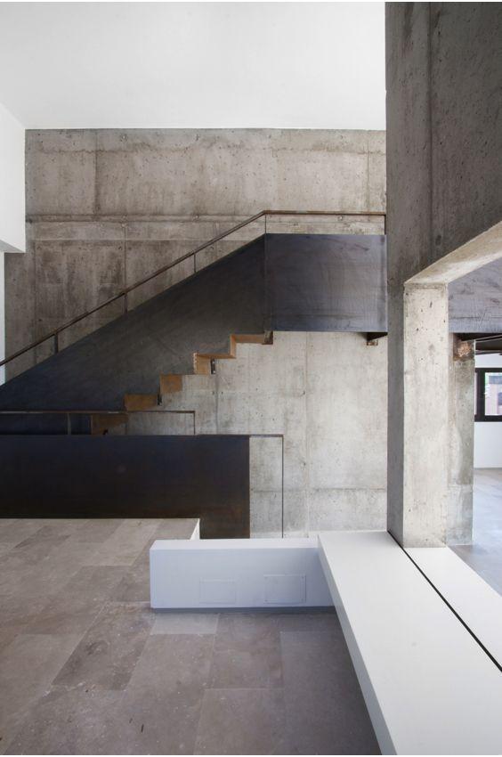 escaleras abaton en metal