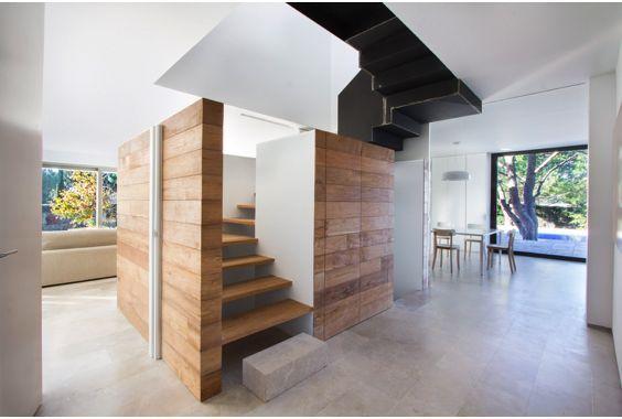 escaleras Abaton integradas