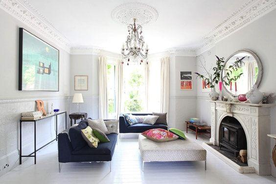 actualizar casa de campo - blanco y color