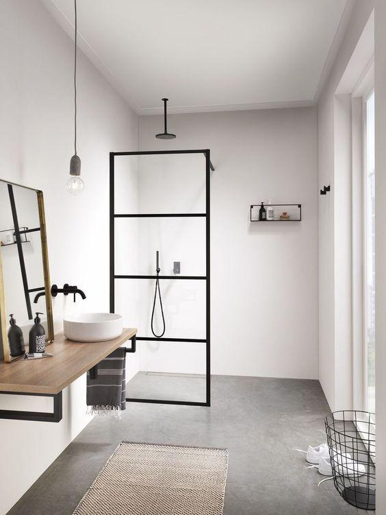 instala una ducha en lugar de una banera