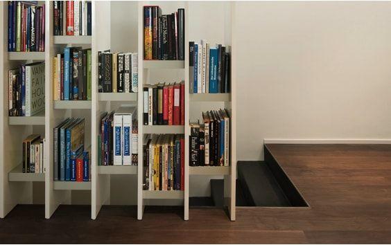 escaleras de duplex, libreria