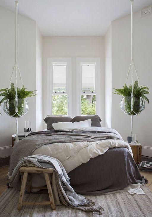 Plantas colgantes para dummies, espectaculares en el dormitorio