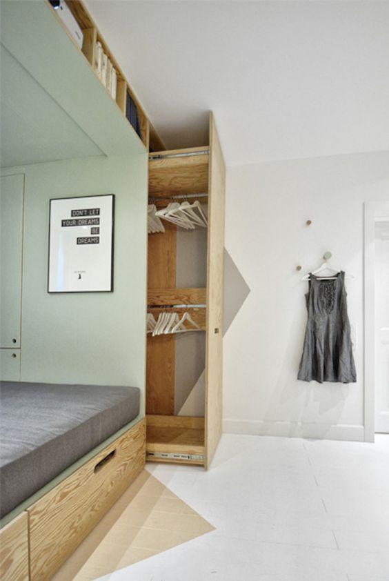 Almacenaje inteligente   armarios con fondo   decoralinks.com