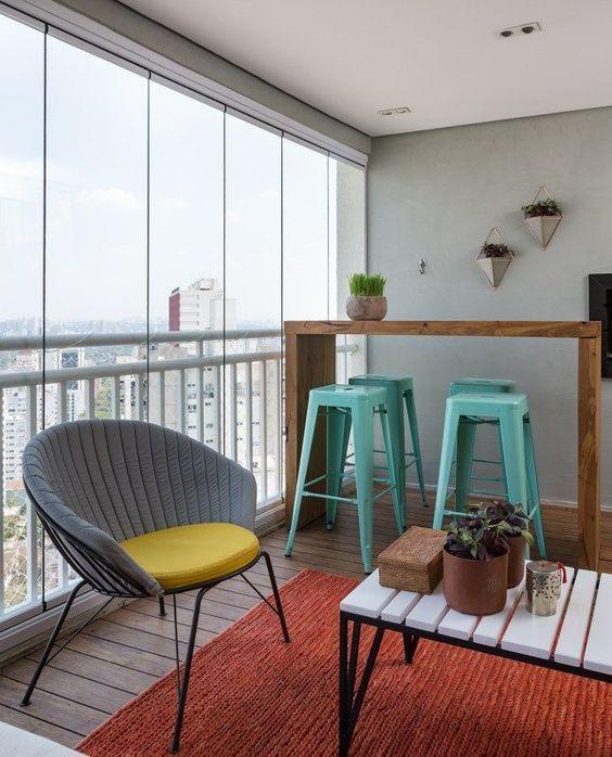 decoralinks | cortinas de cristal para mejorar el uso del balcon