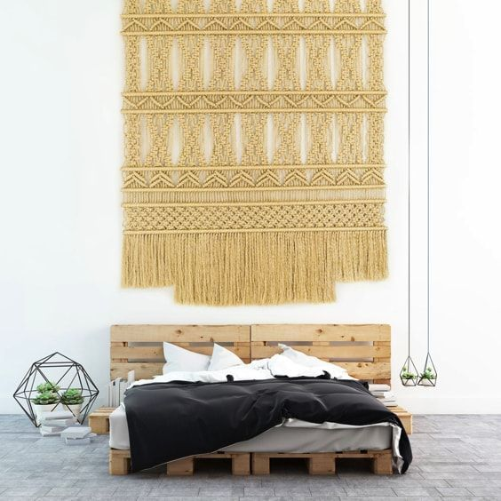 deco retro actual - macrame