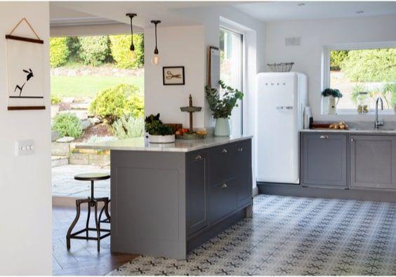 decoralinks | cocina open space en casa de campo