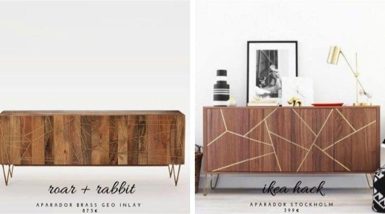 Muebles estilosos a precios de mercadillo - aparador fifties