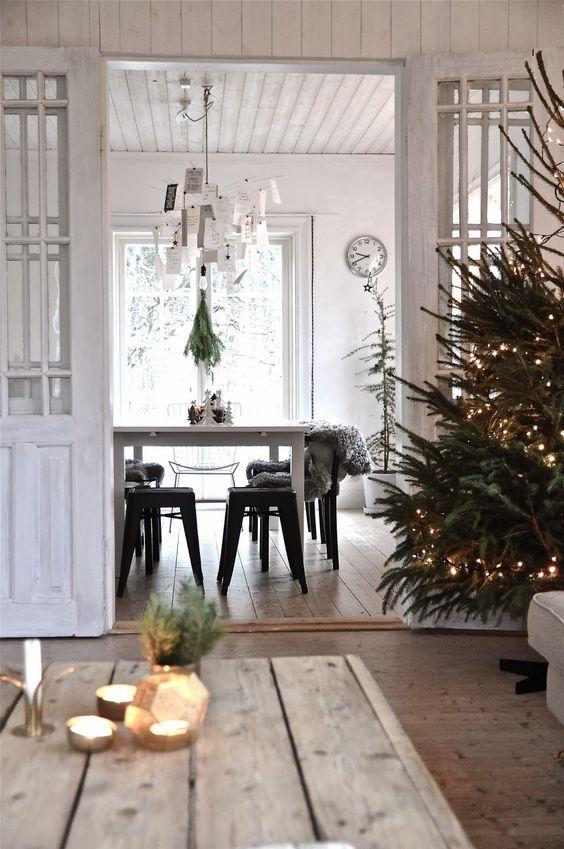 decoralinks | navidad en verde - arbol sin adornos
