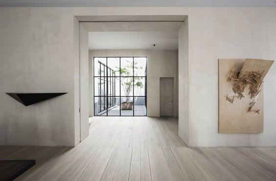 decoralinks | residence designed by Vincent Van Duysen in Antwerp