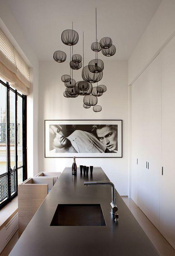 decoralinks | clean lines for this minimalist kitchen