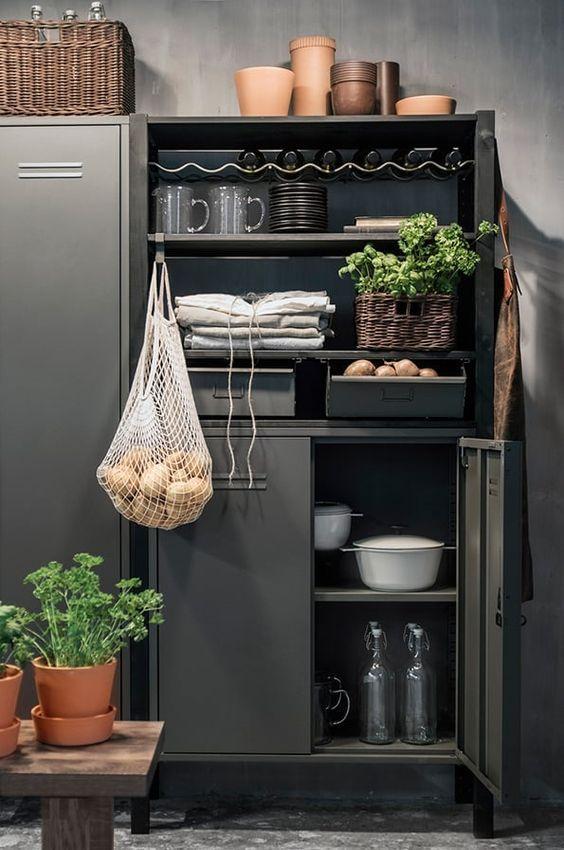 decoralinks | slate locker from ikea - model IVAR