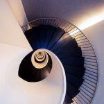 decoralinks | escalera del hotel Domine en bilbao. fotografia de @botikario