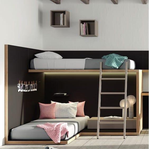 decoralinks | camas tren cruzadas