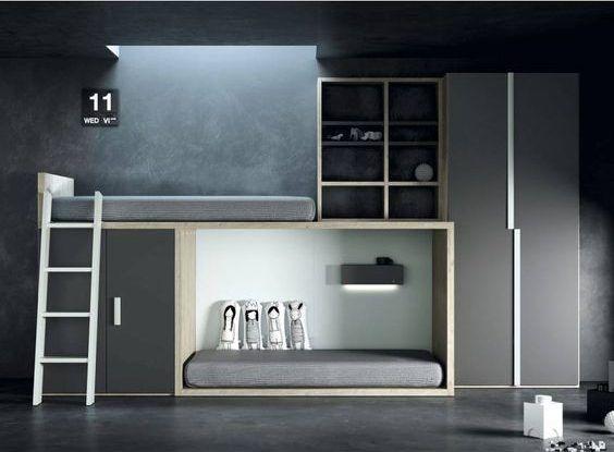 decoralinks | camas tren - modelo de TegerMobel en Mobel6000