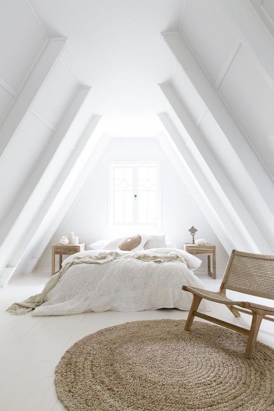decoralinks   color vestir cama verano - todo blanco