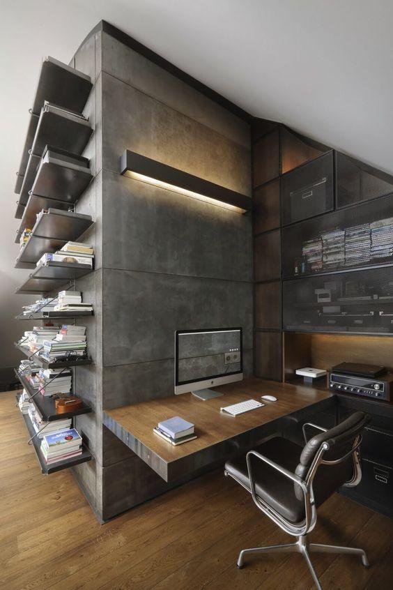 decoralinks | apartamento loft industrial - oficina en casa