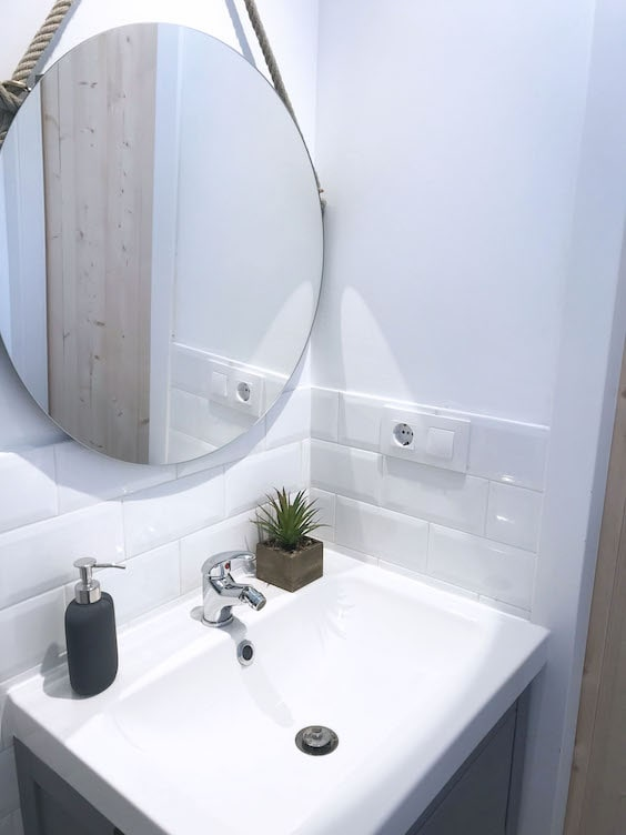 decoralinks | espejo redondo con cuerda