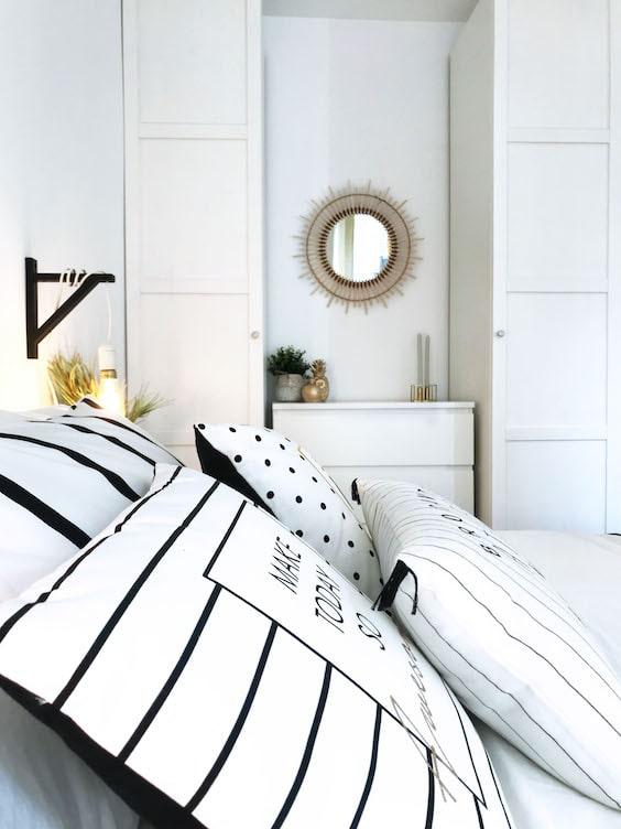 decoralinks   reforma piso alquiler - dormitorio low cost blanco
