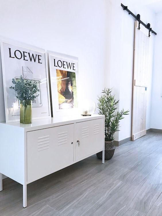 decoralinks   reforma piso alquiler file cabinet metalico ikea
