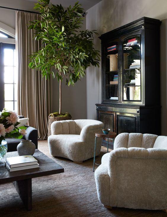 decoralinks   salón de Jessica Alba en Los Angeles