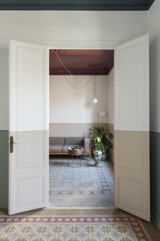 decoralinks | molduras clasicas en proyecto de colombo serboli