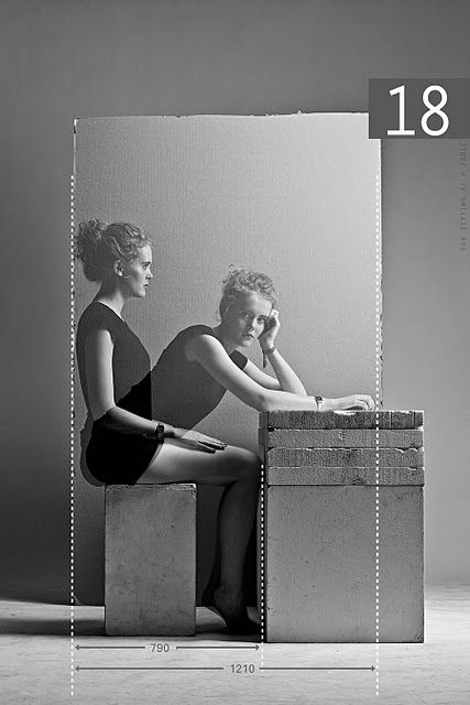 decoralinks | medimos el comedor - fotografias Human-reification de Paul Gisbrecht