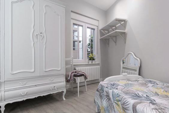 decoralinks | reforma piso - dormitorio con muebles reciclados