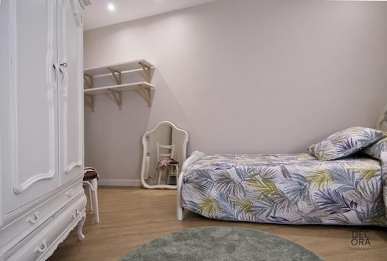 decoralinks | reforma dormitorio irregular