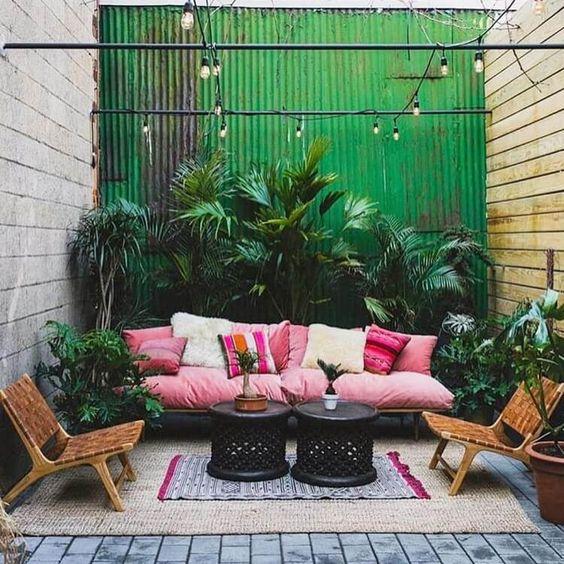 #decoralinks #alfombrasdeexterior #bohemian #outdoor #patio #yard #alfombradeyute
